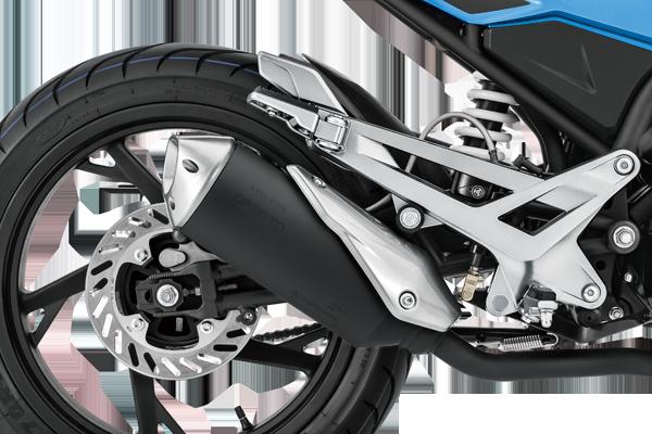 Race Fiero 150 brake
