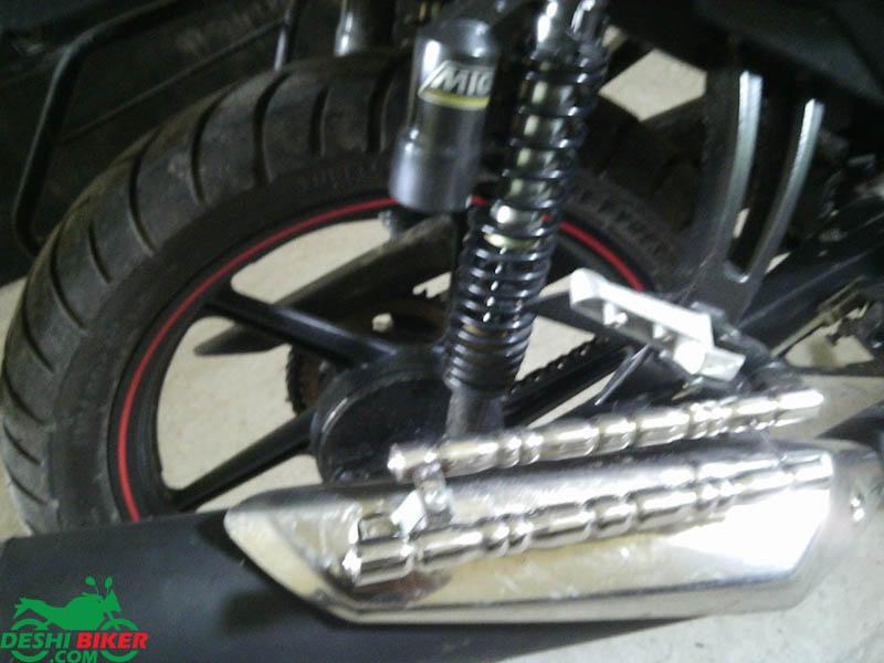 RTR Rear tyre
